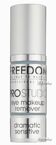 FREEDOM - PRO STUDIO - eye makeup remover - Żel do demakijażu oczu