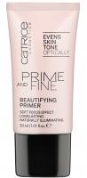 Catrice - PRIME AND FINE - BEAUTIFYING PRIMER - Różowa baza pod makijaż z perłowymi pigmentami - 756332