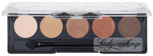 Golden Rose - Professional Palette Eyeshadow - Paleta 5 cieni do powiek