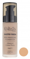 Karaja - PHOTO FINISH - PORE MINIMIZING FOUNDATION - Advanced Colour Purity - Podkład perfekcyjnie matujący - 60 - 60