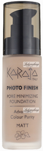 Karaja - PHOTO FINISH - PORE MINIMIZING FOUNDATION - Advanced Colour Purity - Podkład perfekcyjnie matujący