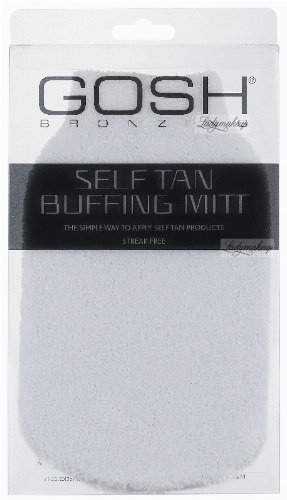 GOSH - SULF TAN BUFFING MITT - Rękawica ścierająca
