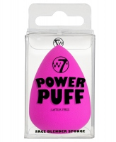 W7 - POWER PUFF - FACE BLENDER SPONGE - NEON PINK - (J)