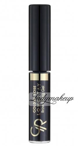 Golden Rose - LONGSTAY Brow Styling Gel - Żel do stylizacji brwi