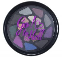 I ♡ Makeup - Go!♡to Hell - Palette of 19 eyeshadows