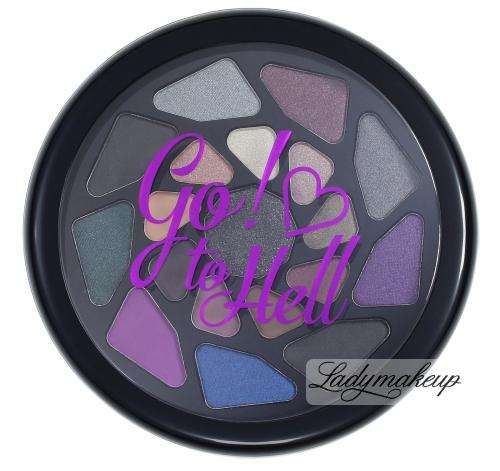 I ♡ Makeup - Go! to Hell - Paleta 19 cieni do powiek