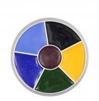 KRYOLAN - Supracolor - Rainbow Circle - Tłusta farba do makijażu - ART. 1306 - BLACK EYE 2 - BLACK EYE 2