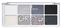 Essence - All about GREYS eyeshadow - Paleta 8 cieni do powiek - 04 GREYS - 754317