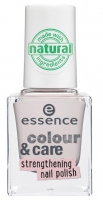 Essence - COLOUR & CARE - Strengthening nail polish - Lakier do paznokci