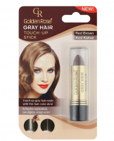 Golden Rose - GRAY HAIR - TOUCH-UP STICK - Sztyft na odrosty - R-GHT - 04 - RED BROWN - 04 - RED BROWN