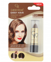 Golden Rose - GRAY HAIR - TOUCH-UP STICK - Sztyft na odrosty - R-GHT - 05 - BROWN - 05 - BROWN