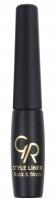 Golden Rose - STYLE LINER Black & Black - Tusz do kresek - M-ESL - 14