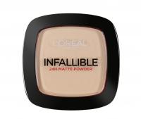 L'Oréal - INFALLIBLE 24H MATTE POWDER - 123 - WARM VANILLA