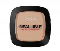 L'Oréal - INFALLIBLE 24H MATTE POWDER - Puder matujący - 225 - BEIGE