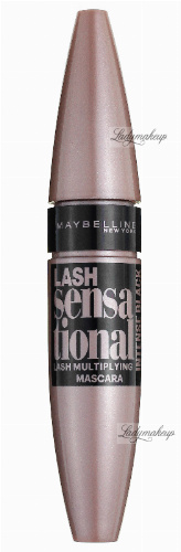 MAYBELLINE - LASH sensational MULTIPLYING MASCARA - Wielozadaniowy tusz do rzęs - INTENSE BLACK