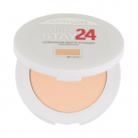 MAYBELLINE - SUPER STAY 24 - LONGWEAR MATTE POWDER WATERPROOF - Puder Prasowany