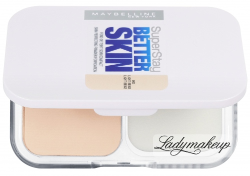 MAYBELLINE - SuperStay BETTER SKIN - Powder Foundation - Podkład w pudrze