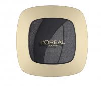 L'Oréal - COLOR RICHE LES OMBRES - Zestaw 4 cieni do powiek - S13 - MAGNETIC BLAC - S13 - MAGNETIC BLAC