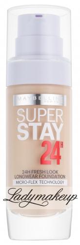 MAYBELLINE - SUPERSTAY 24H - LONGWEAR FOUNDATION - Długotrwały podkład do twarzy