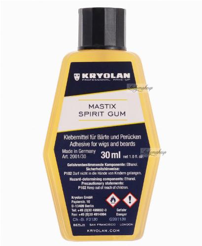 KRYOLAN - MASTIX - SPIRIT GUM - Klej do włosów, zarostów i peruk - ART. 2001/30