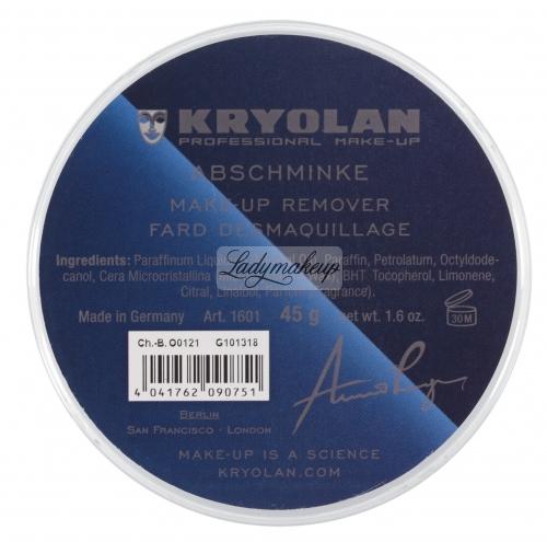 KRYOLAN - Abschminke - Preparat do demakijażu - ART. 1601