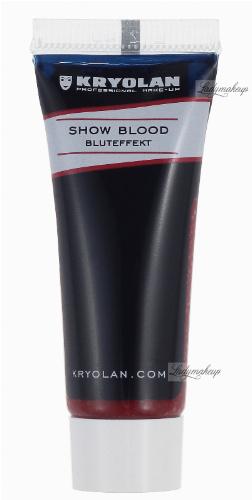 KRYOLAN - SHOW BLOOD - Sztuczna krew w żelu do imitacji zadrapań - 4083