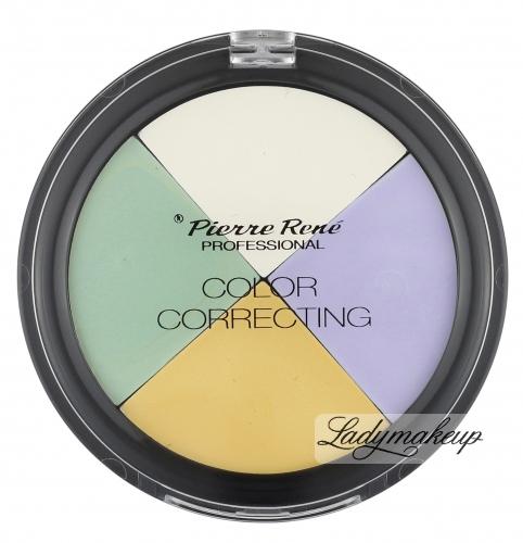 Pierre René - COLOR CORRECTING - Paleta korektorów do twarzy