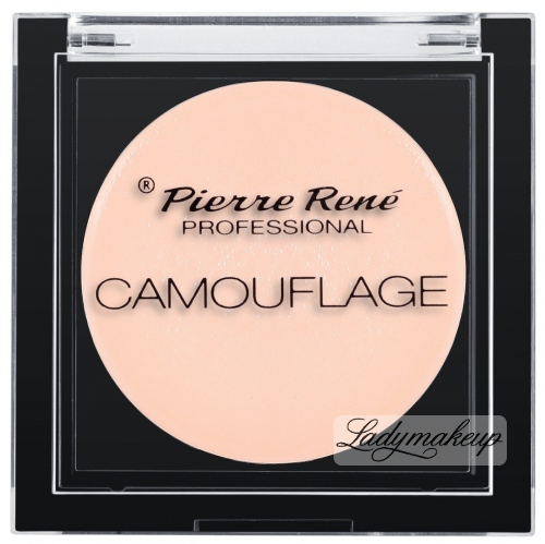 Pierre René - Camuflage Cover Cream - Korektor idealny