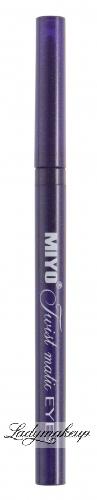MIYO - Twist matic EYES - Creamy eyeliner super soft - LONGLASTING - Automatyczna kredka do oczu