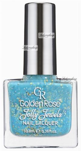 Golden Rose - Jolly Jewels - NAIL LACQUER - Lakier do paznokci z drobinami - O-JJW