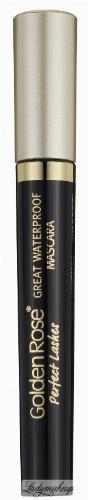 Golden Rose - Perfect Lashes - GREAT WATERPROOF MASCARA - Wodoodporny tusz do rzęs - M-GPL-WPF