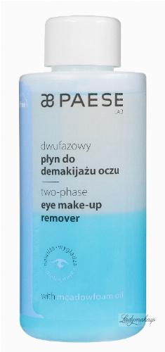 PAESE - Two-phase eye make-up remover - Dwufazowy płyn do demakijażu oczu
