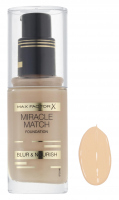 Max Factor - MIRACLE MATCH FOUNDATION - 47 - NUDE - 47 - NUDE