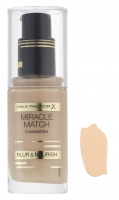 Max Factor - MIRACLE MATCH FOUNDATION - 55 - BEIGE - 55 - BEIGE
