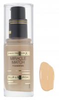 Max Factor - MIRACLE MATCH FOUNDATION - 60 - SAND - 60 - SAND