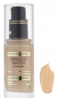 Max Factor - MIRACLE MATCH FOUNDATION - 75 - GOLDEN - 75 - GOLDEN