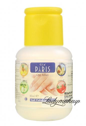Golden Rose - GIA PARIS - NAIL POLISH REMOVER - Perfumowany zmywacz do paznokci - PINEAPPLE - 50 ml - ZMYW-P052