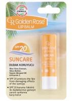 Golden Rose - LIP BALM SUNCARE - Protective lipstick with SPF20 filter - R-GLB-SUN