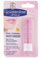 Golden Rose - LIP BALM PEARL SHIMMER & MOISTURIZERS - Pomadka ochronna NADAJĄCA POŁYSK - R-GLB-MOUS