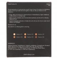Sleek - Cream Contour Kit - Zestaw do konturowania twarzy - MEDIUM 096