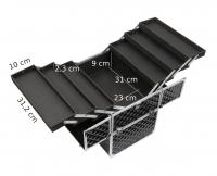 KUFER KOSMETYCZNY - NS06+ A BLACK DIAMOND 3D
