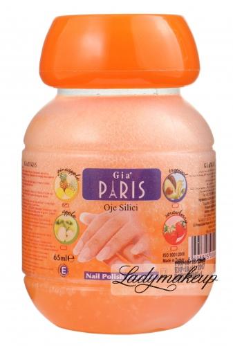 Golden Rose - GIA PARIS - NAIL POLISH REMOVER - Zmywacz do paznokci z gbką - PINEAPPLE - 65 ml - ZMYW-GPA