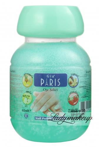 Golden Rose - GIA PARIS - NAIL POLISH REMOVER - Zmywacz do paznokci z gbką - APPLE - 65 ml - ZMYW-GA