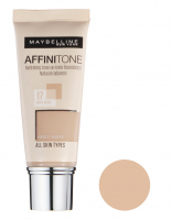 MAYBELLINE - AFFINITONE TONE - ON - TONE - Podkład - idealne dopasowanie bez efektu maski - 17 - ROSE BEIGE - 17 - ROSE BEIGE