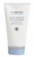 LUMENE - ULTRA SENSITIVE MOISTURIZING & CALMING MASK - Łagodząco-nawilżająca maska do twarzy, szyi i dekoltu