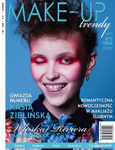 Magazyn Make-Up Trendy - Marynarski Look - No2/2016