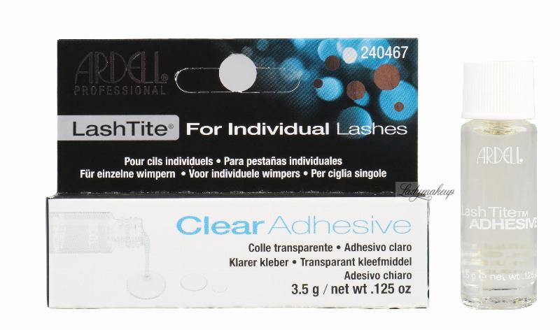 3fbd0c90846 ARDELL - Lash Tite Adhesive For Individual Lashes - Klej do kępek rzęs.  DARK. DARK. CLEAR. CLEAR