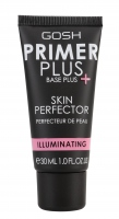 GOSH - PRIMER PLUS SKIN PERFECTOR - ILLUMINATING - Baza udoskonalająca cerę