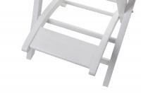 Krzesło wizażysty - BIAŁE