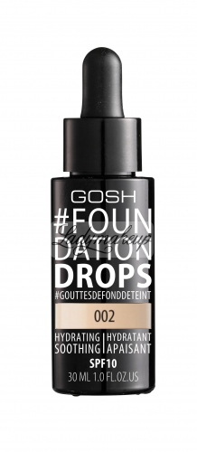 GOSH - FOUNDATION DROPS - Podkład nawilżająco-wygładzający